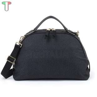Borbonese Sexy Bag Medium in Jet OP Nero 934886296100