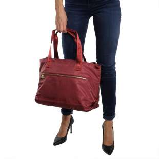 Borbonese Medium OP Burgundy 934462296T09 2
