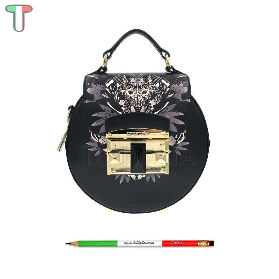 finest selection ac590 2a193 Cromia Wolf Nero 1403884G mini borsa a mano | TutITALIA