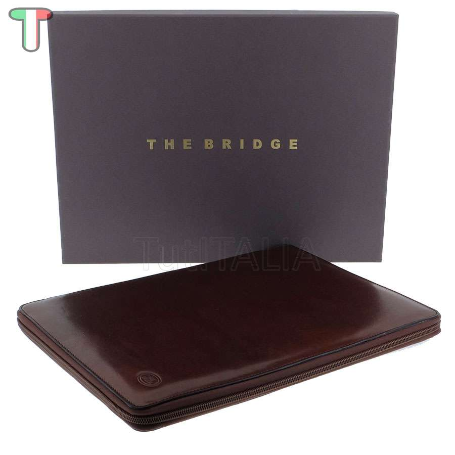 The Bridge Story Uomo Marrone TB/Oro 01904501 14